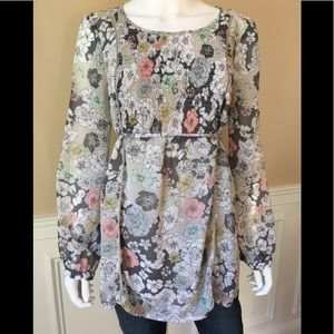 Motherhood Maternity floral blouse top